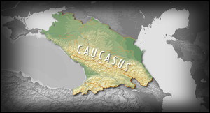 Caucasus kavkaz map by TheColchian