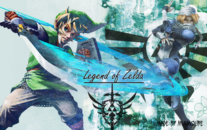 Legend Of Zelda Wallpaper by MiAmoure
