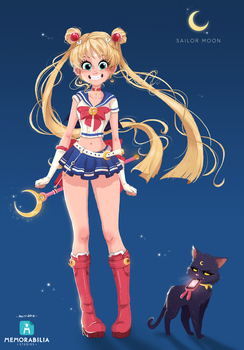 Sailor Moon Redesign by Memorabilia-Studios
