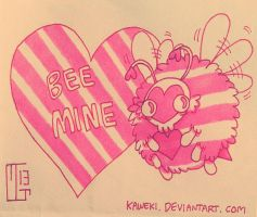 Bee Mine by Ferwildir