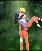 Kiss in the rain by daily-happiness
