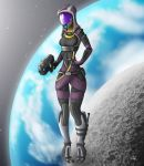 Tali'Zorah vas Normandy by oliverkrings