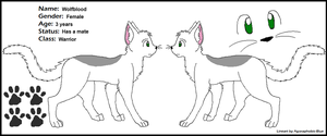 Wolfblood ref sheet by SyvaTheWolf123