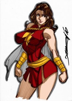Mary Marvel by Daikon by Kenkira