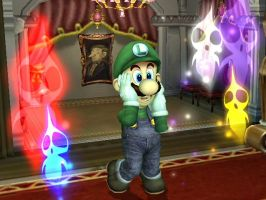 Luigi's Mansion by SuperSmashBrosGuy