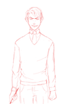 + Tom Riddle by fatalpen