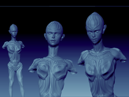 Cytherean 5  (WIP1) by JesseThompson