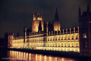 London Houses Of Parliament by lensworksphotography