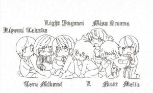 Death Note Names - pencil by kyon9854