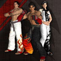 Tekken Tag Tournament 2  - Kazuya , Jin and Jun by DOOM4Rus