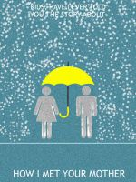 How I Met Your Mother Minimalist Poster by Mr-Saxon