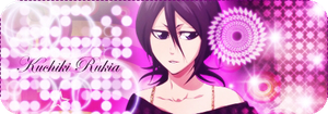 Rukia: shining and shimmering by Elinicia