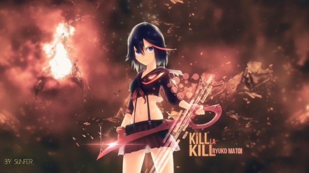 Wallpaper Kill la Kill FULL HD by Sl4ifer