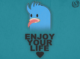 ENJOY YOUR LIFE - WP by Ayo-Charizard