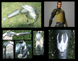 Star Wars Rebels: Kanan Jarrus Armor - FULLMETAL by JaroKrieg