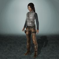 TOMB RAIDER Lara Mountaineer by ArmachamCorp
