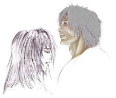 tidus and yuna WIP1 by duxfox