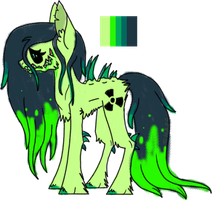 Toxic Pony Auction by Void-Adoptables