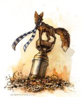 Fox-bomb by kenket