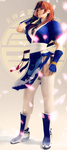Kasumi 1/3 of a poster by EnlightendShadow