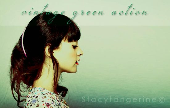 Vintagegreen action by stacytangerine