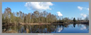 Panorama Reflections by IndianRain