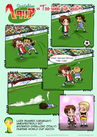 [APH: Sport News] [FIFA-2014] Too sweet to resist by Margo-sama