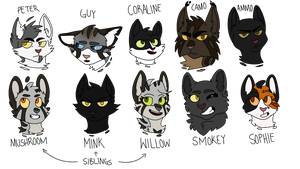 The Cats by death-dog