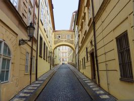 Prague Street by cemacStock