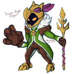 [FANSKIN] Dragon Knight Veigar by Lycisca