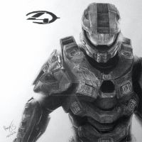 Master Chief by FromPencil2Paper