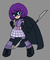 Hit-Girl, bleedman style by Death-Driver-5000