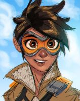 Tracer - Overwatch by DaveJorel