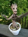 Baby Groot 5 by DDDIllustrations