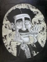 Portrait of Groucho by albonet