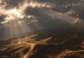 The Road and the Light by ArthurBlue