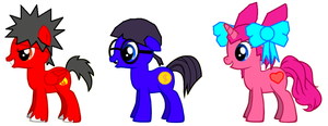 Ponified 3 Kids by Greasy-LucarioYun