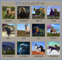 2009 Art Summary by Equinus