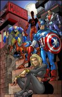 Cover Marvel by Ivan-NES