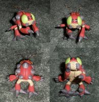 Clay Digimon: Tentomon by HeyLookASign