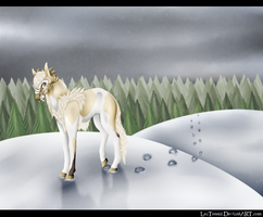 - Snow Has Such A Sad Color - by LeaTenshi