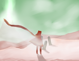 Journey scribble by Tamdrogynous
