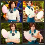 Bioshock Infinite:Elizabeth photoshoot part 2 by Lika-tyan