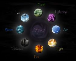 The Elements by HaliteAnn