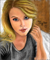 Taylor Swift by cesinhalima