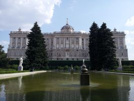 Palacio Real de Madrid by Exillior