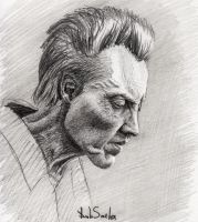 Christopher Walken by Smeha