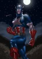 Captain America by Darthval