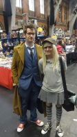 Manchester MCM - Derpy and The Doctor by DokiDokiCosplays