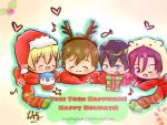 {Free!} Free your Happiness! Happy Holidays! by purplepandaj
